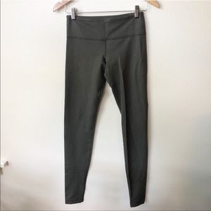 Lulululemon Wunder Under Pant Denim Luon Green 4